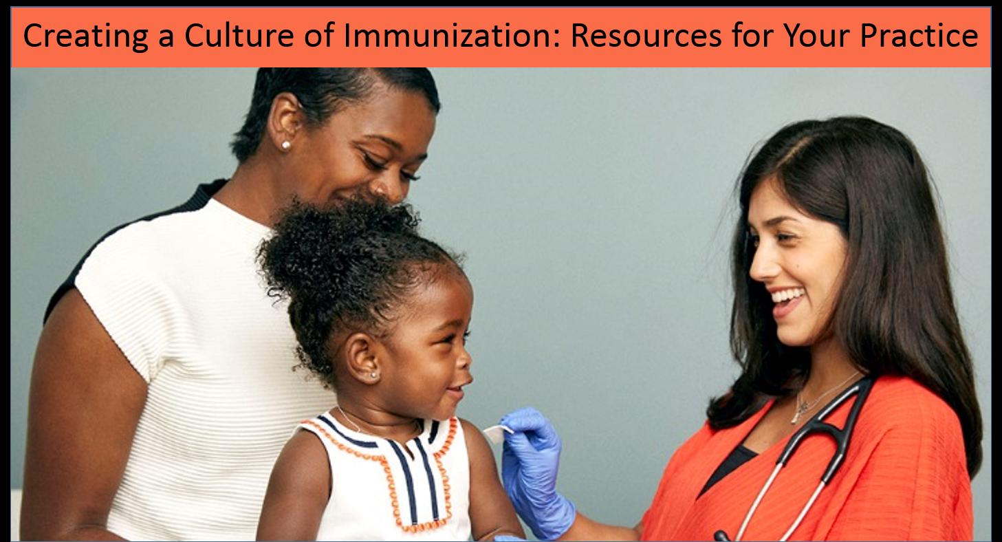 Creating a culture of immunization